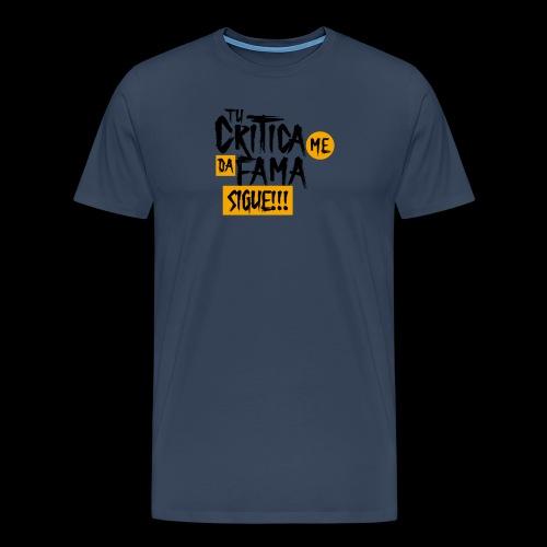 CRITICA - Camiseta premium hombre