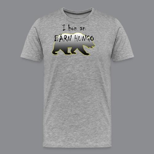 i hon an Bärn hungo - Männer Premium T-Shirt