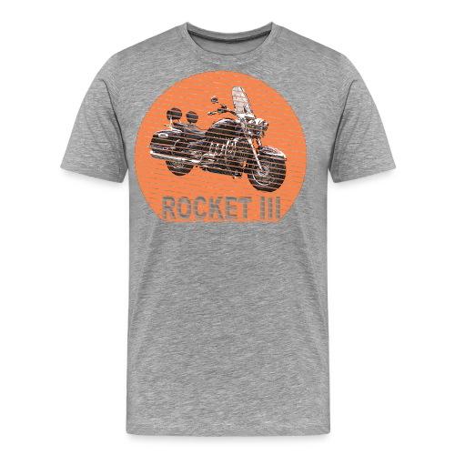 Rocket III Touring Sun - Sonne - Männer Premium T-Shirt