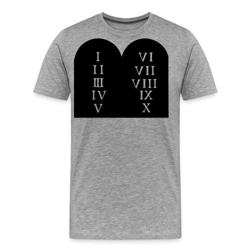 Decalogue - Men's Premium T-Shirt