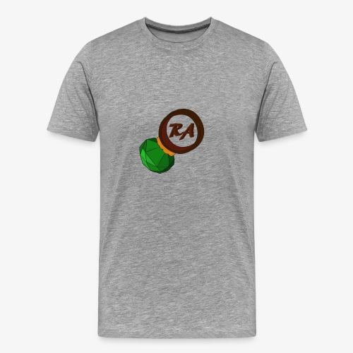 emerald on a ring png png - Men's Premium T-Shirt