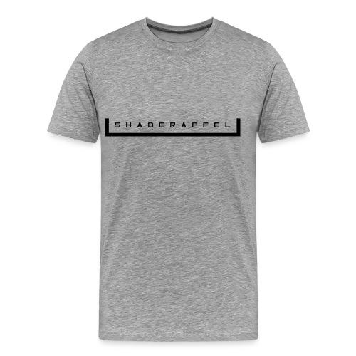 ShaderApfel Flat 1 - Männer Premium T-Shirt