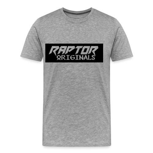Raptor Originals Logo Exported png - Men's Premium T-Shirt