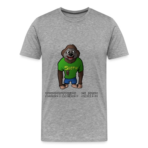 Irrational Sloth Design 2 - Men's Premium T-Shirt