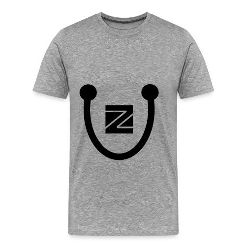 ZU logo - Men's Premium T-Shirt