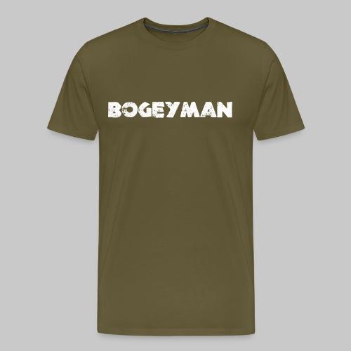 valkoinen - Miesten premium t-paita