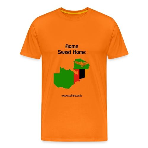 home-sweet-home-flag-coun - Men's Premium T-Shirt