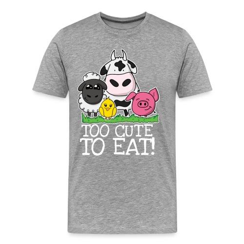Too cute to eat - Männer Premium T-Shirt