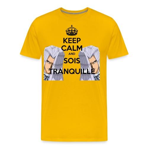 SOIS TRANQUILLE HD - T-shirt Premium Homme