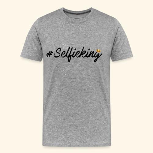#Selfieking - Mannen Premium T-shirt