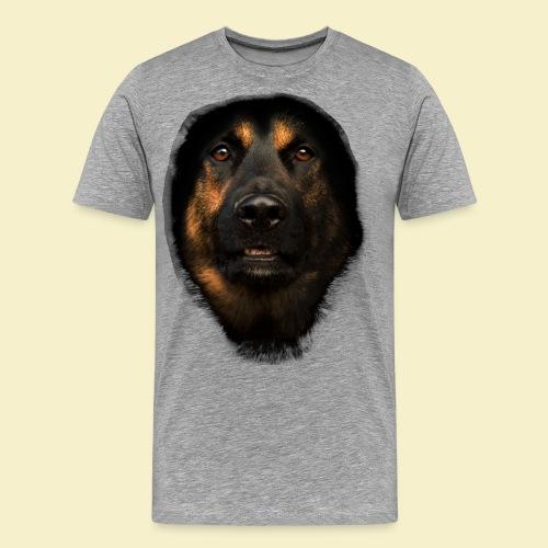 Schäferhund Portrait - Männer Premium T-Shirt