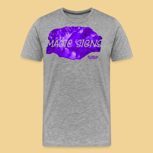magic purple - Männer Premium T-Shirt