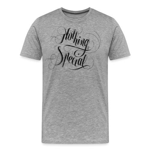 Nothing Black - Men's Premium T-Shirt