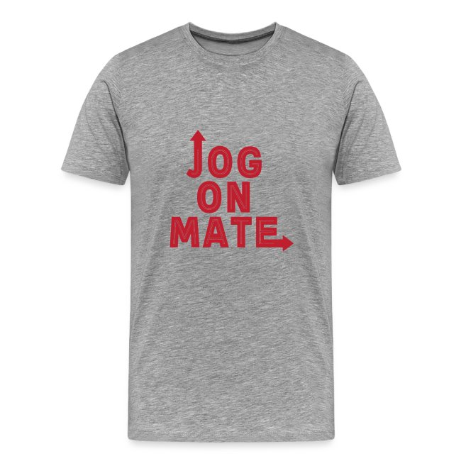 Jog On Mate Red png
