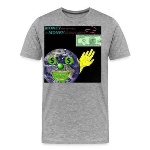 SYLVER SECOND - MONEY ISN - Männer Premium T-Shirt