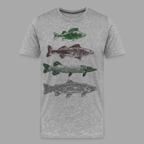 Lake - Miesten premium t-paita