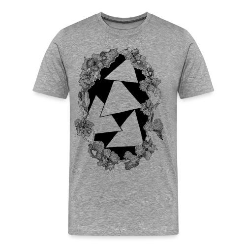 Raining Triangles - Maglietta Premium da uomo