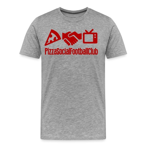PSFCmax rouge png - T-shirt Premium Homme