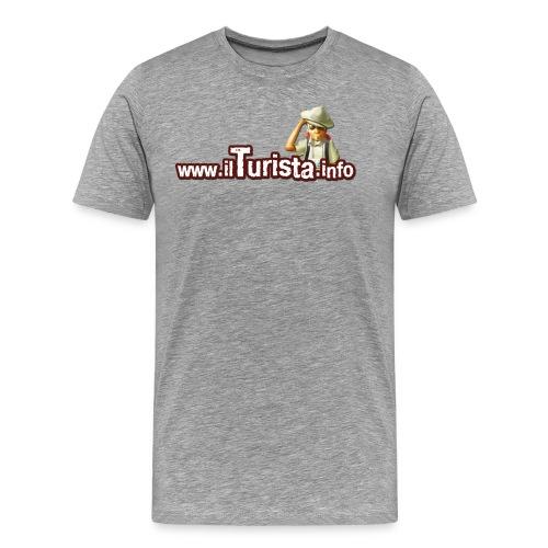 turista scontornata - Maglietta Premium da uomo