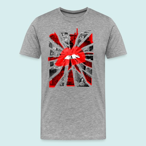 Kiss Britain - Men's Premium T-Shirt