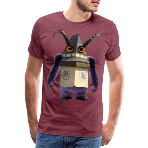 Graz Uhrturm Monster Schloßberg - Männer Premium T-Shirt