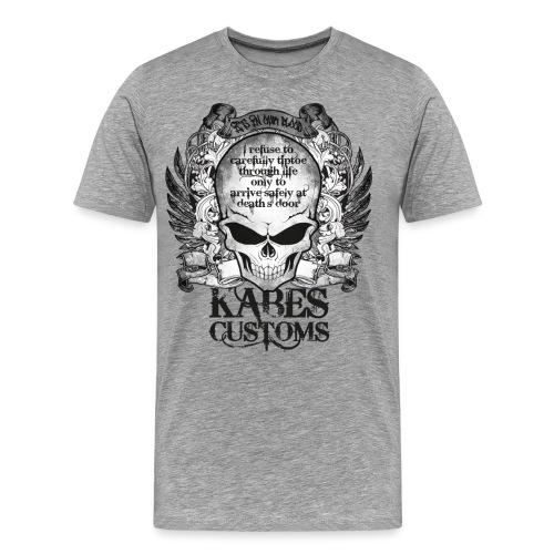 Kabes Tiptoe T-Shirt - Men's Premium T-Shirt