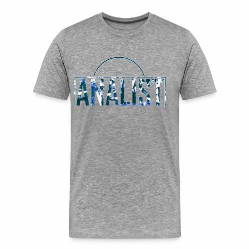 ANALIST - Mannen Premium T-shirt