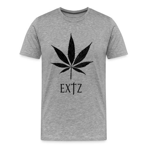 Vetement Marque EXTZ Feuille De Canabis Noir. - T-shirt Premium Homme