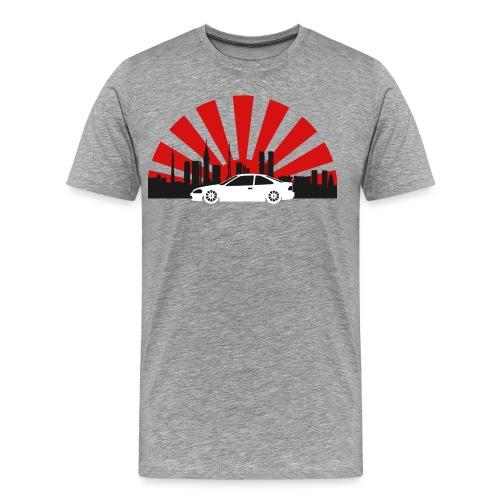 Tokio EK Coupe-01 - Männer Premium T-Shirt