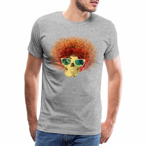 Freaky Skull Vintage - Mannen Premium T-shirt