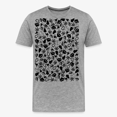 Clichés ardechois - T-shirt Premium Homme