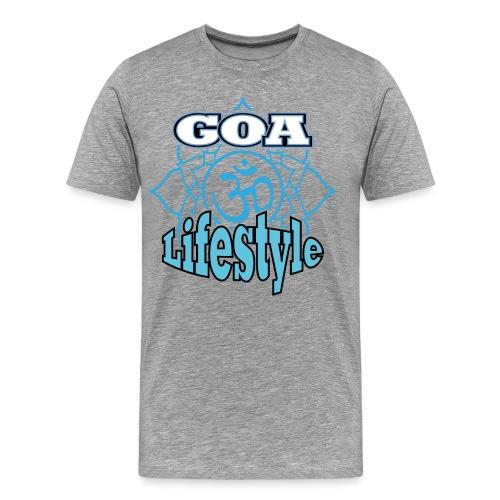 Goa Lifestyle 2.png - Männer Premium T-Shirt