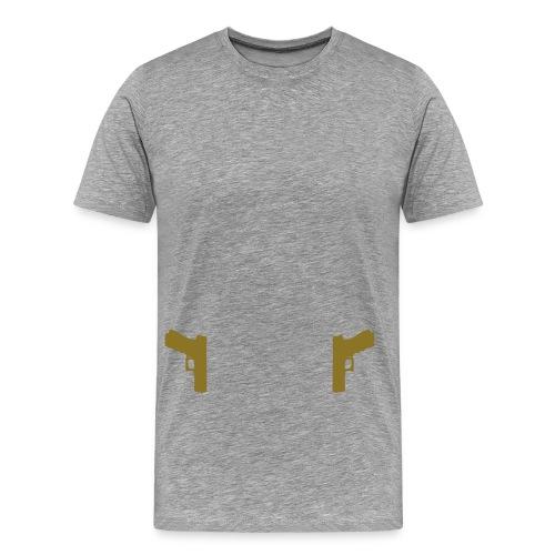 Guns Holster - Mannen Premium T-shirt