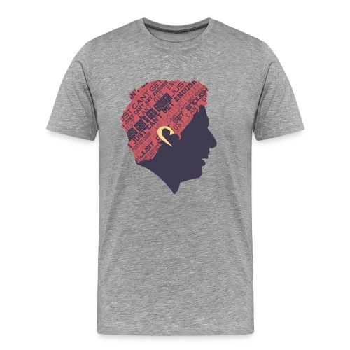 SUAREZ HEAD3 png - Men's Premium T-Shirt