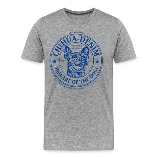 CHIHUA-DENIM Beware - Männer Premium T-Shirt