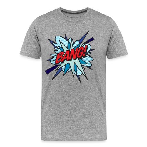 Comic Book Pop Art BANG! - Men's Premium T-Shirt