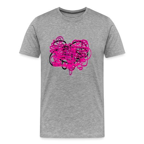 delicious pink - Men's Premium T-Shirt