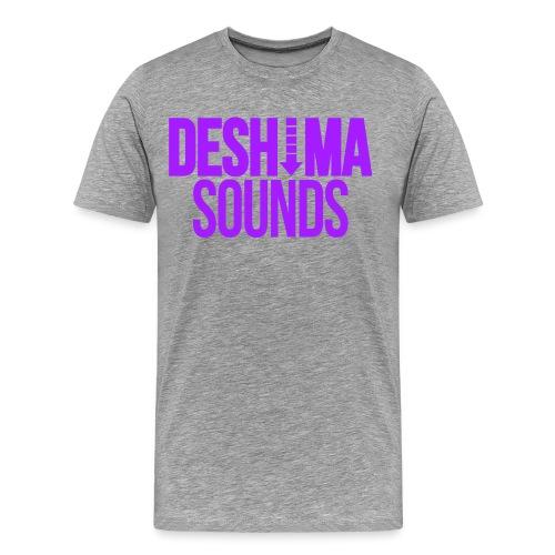 Purple - Mannen Premium T-shirt