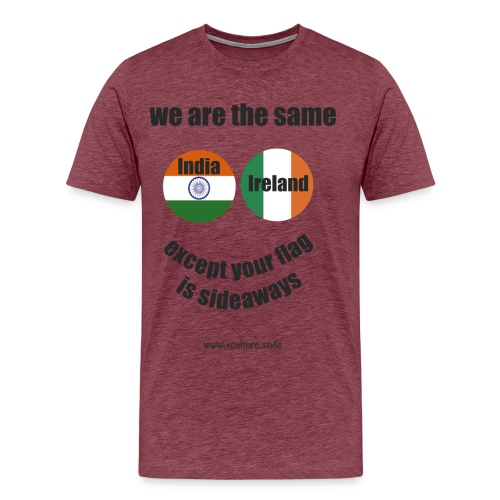 we are the same circles png - Men's Premium T-Shirt