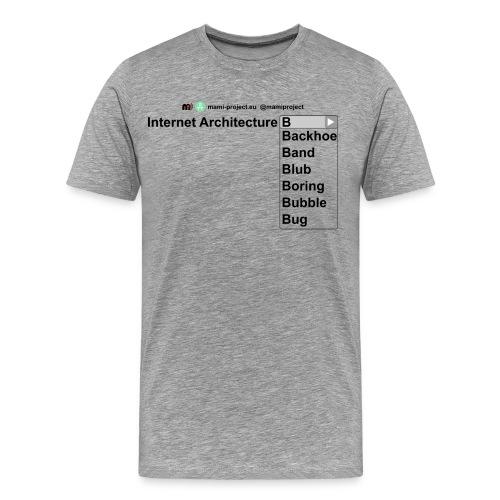 IAB-all3 - Men's Premium T-Shirt