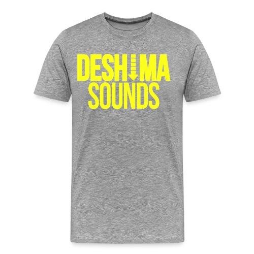 Yellow - Mannen Premium T-shirt