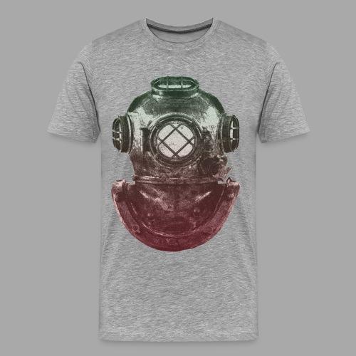 Diver - Miesten premium t-paita