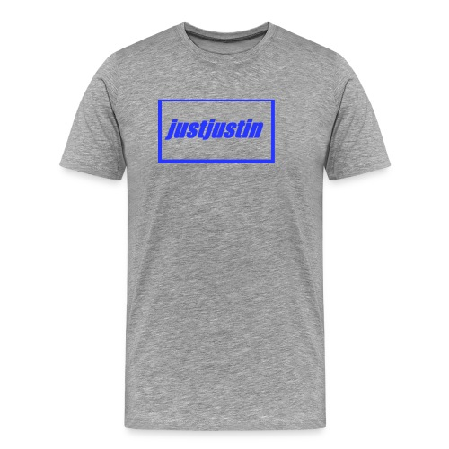 justjustin cap - Men's Premium T-Shirt
