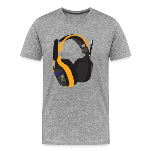 headsetcopy png - Men's Premium T-Shirt