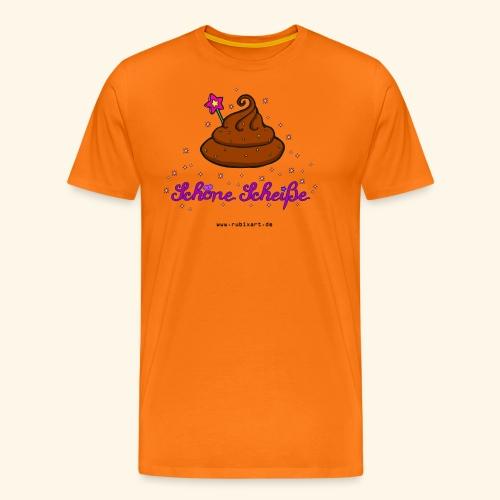 Schöne Scheiße Kacke - Männer Premium T-Shirt