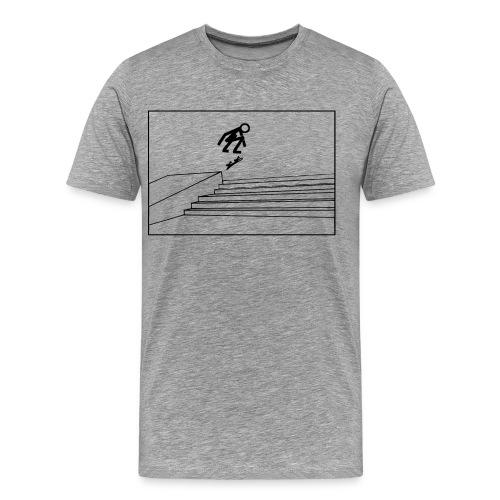 Kickflip - Männer Premium T-Shirt