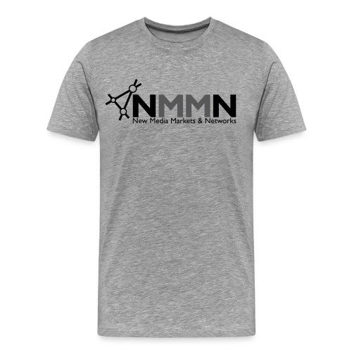 NMMN-Logo-Outline-grey_20 - Männer Premium T-Shirt