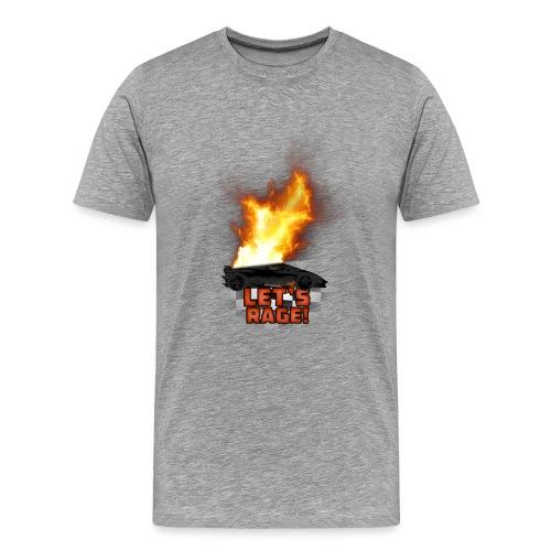 Let's Rage - Men's Premium T-Shirt