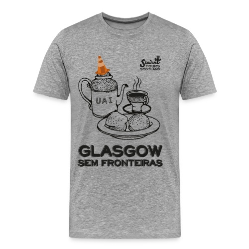 Glasgow Without Borders Brazil Minas Gerais - Men's Premium T-Shirt