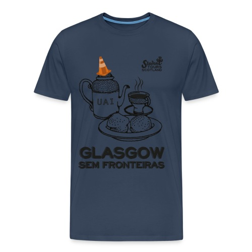 Glasgow Without Borders Brazil Minas Gerais - Men's Premium T-Shirt